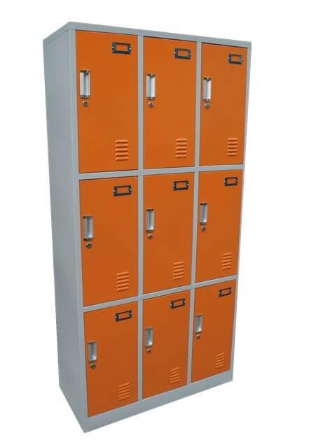 15 Door Sports Steel Lockers