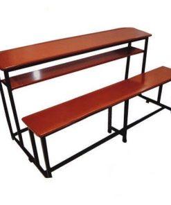 Double School Bench