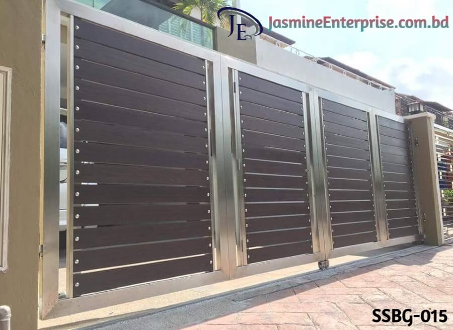 Stainless Steel Boundary Gate. 1