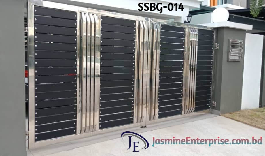 Stainless Steel Boundary Gate.