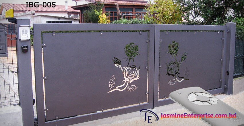 Industrial Boundary Gate 005