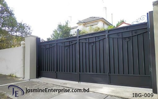 Industrial Boundary Gate (009)