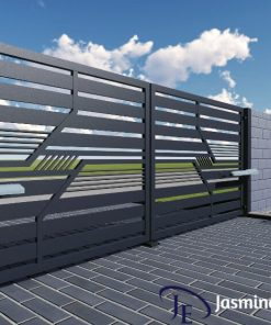 Industrial Boundary Gate (013)