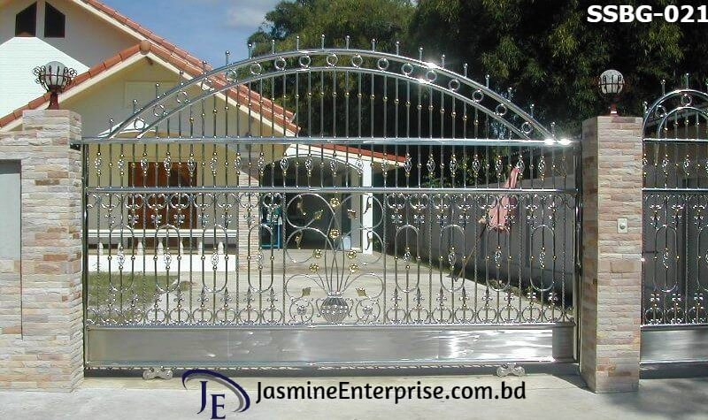 Stainless Steel Boundary Gate (021)