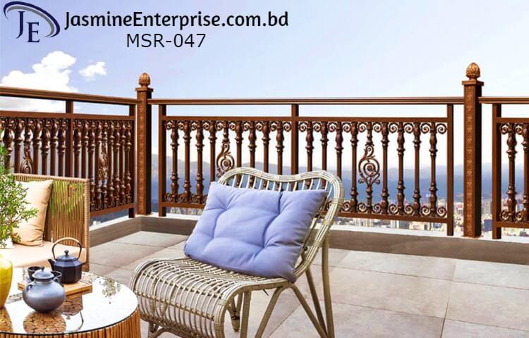 MS Balcony Grill Design in Bangladesh